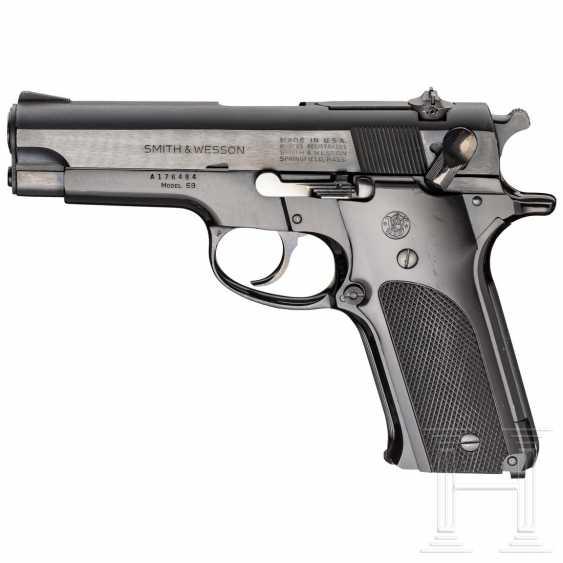"Smith & Wesson Modell 59, ""14-Shot Autoloading Pistol"" - photo 1"
