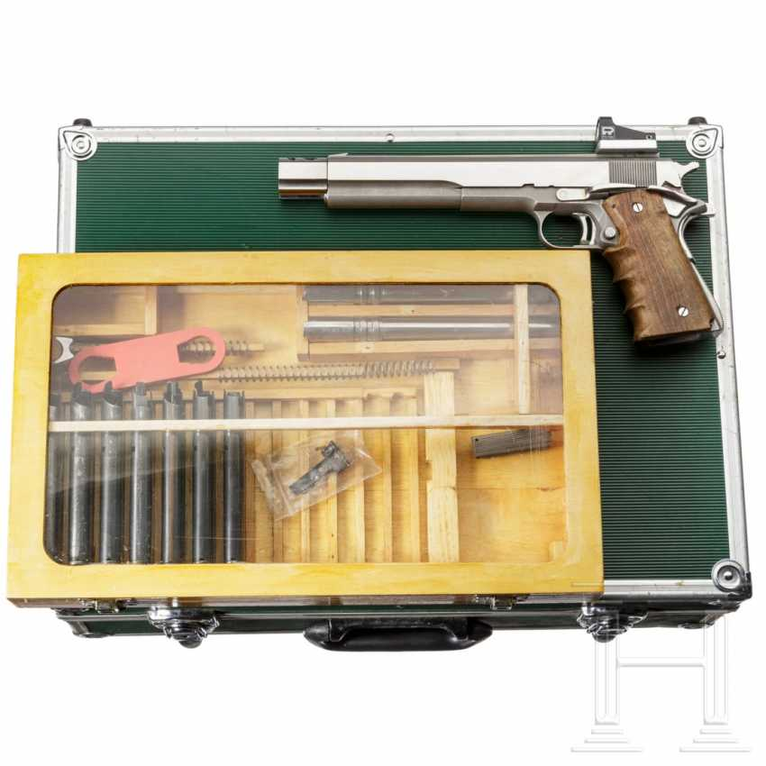 Auto Mag in three calibers, tuned, in a case - photo 1