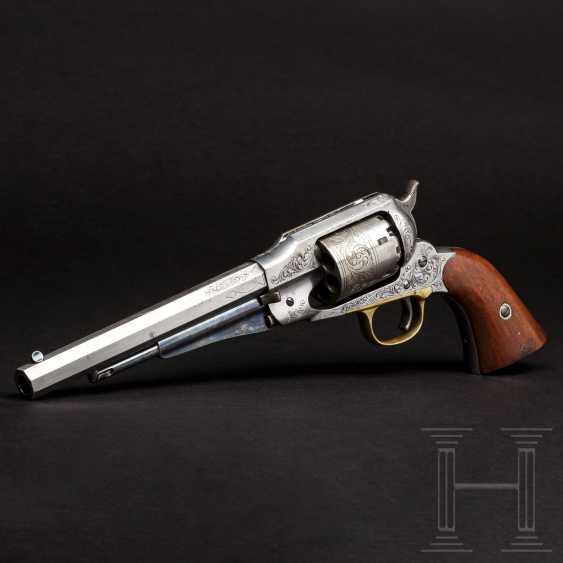 Gravierter Remington New Model Army Revolver - photo 1
