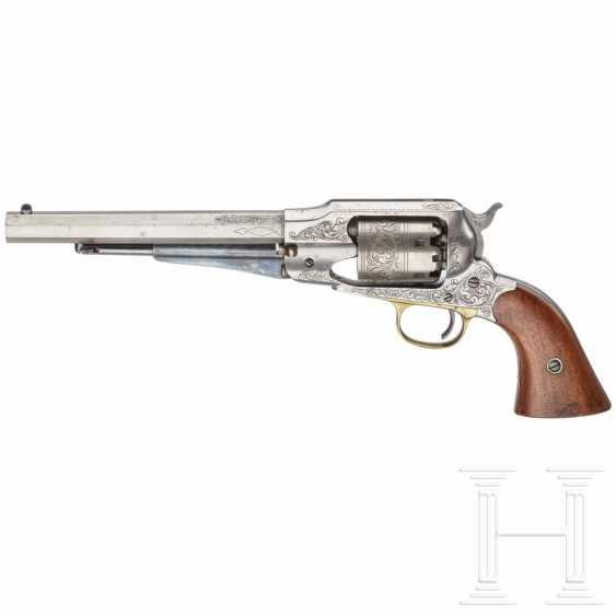 Gravierter Remington New Model Army Revolver - photo 3