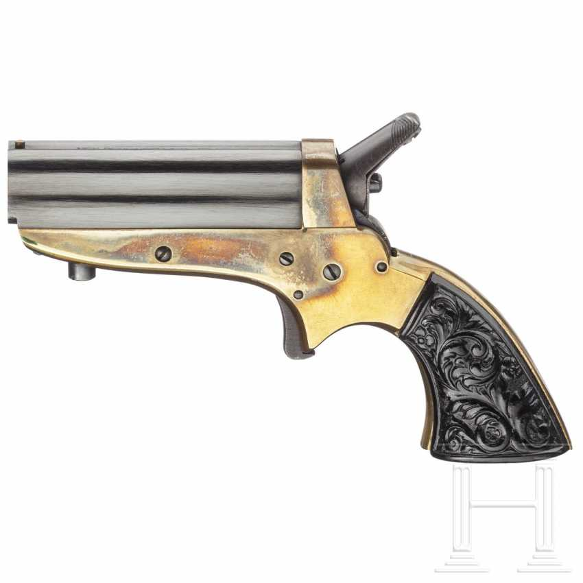 Sharps New Derringer, Uberti, with Holster - photo 1