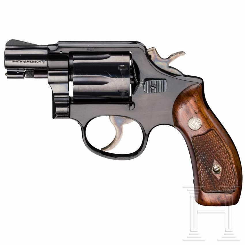 """Smith & Wesson Modell 12, """"The .38 M & P Airweight"""", mit Tasche, Luftwaffe - photo 1"""