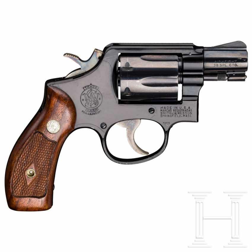 """Smith & Wesson Modell 12, """"The .38 M & P Airweight"""", mit Tasche, Luftwaffe - photo 2"""