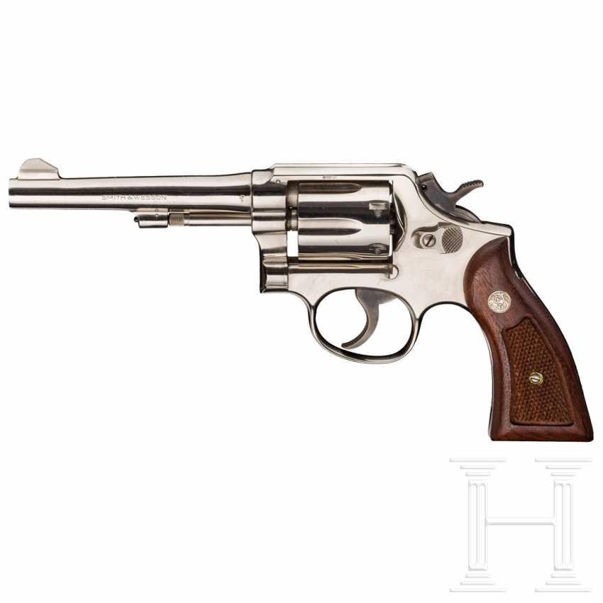 Smith & Wesson Modell 10-5, vernickelt, Polizei - photo 1