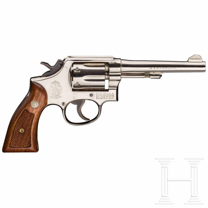 Smith & Wesson Modell 10-5, vernickelt, Polizei - photo 2