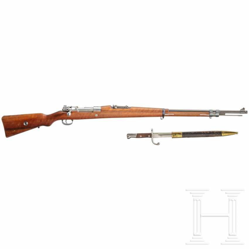 Gewehr Modell 1908, mit Bajonett und Schussbild - photo 1
