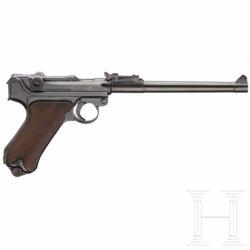 Lange Pistole 08, DWM 1917, mit Tasche - photo 2