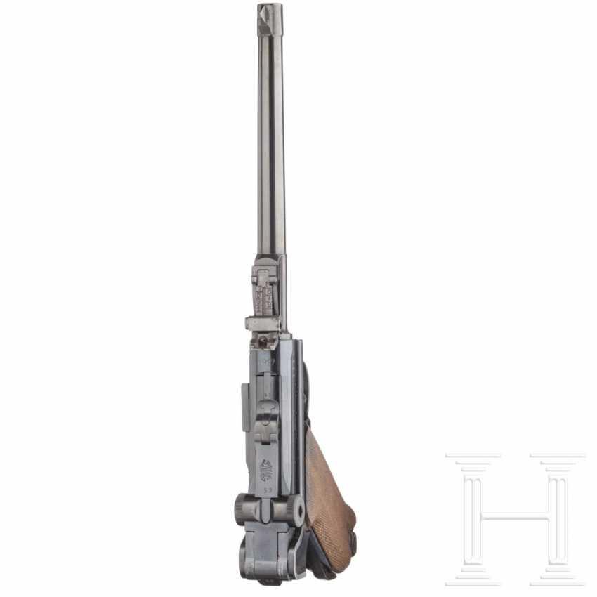 Lange Pistole 08, DWM 1917, mit Tasche - photo 3