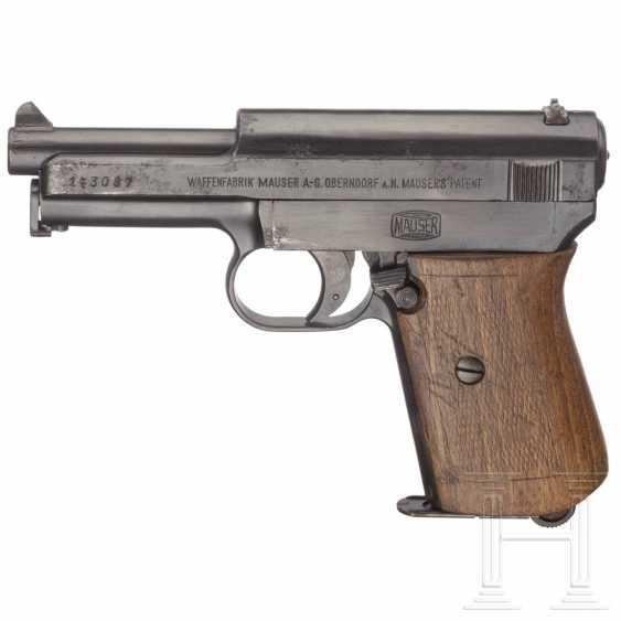 Mauser Modell 1914, Militärkontrakt, mit Tasche - photo 1
