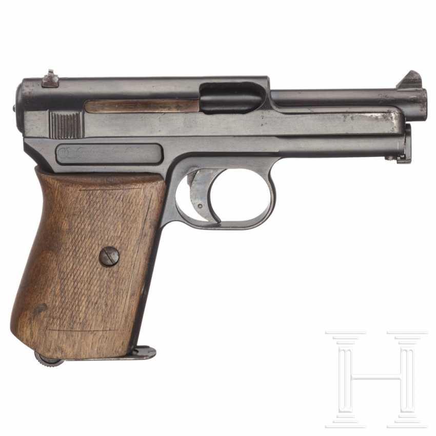 Mauser Modell 1914, Militärkontrakt, mit Tasche - photo 2