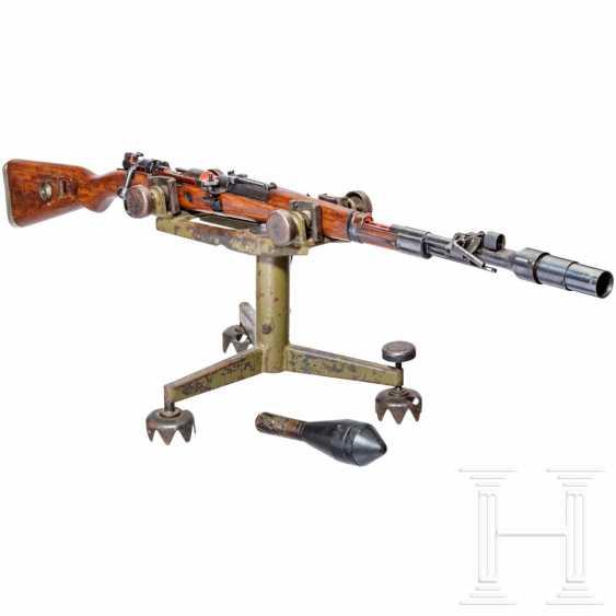 Schnittmodell Preduzece 44 mit Gewehrgranatgerät 42 auf Dreibein - photo 2