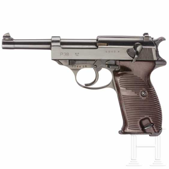 """Mauser- Walther P38, Code """"byf - 44"""" - photo 1"""