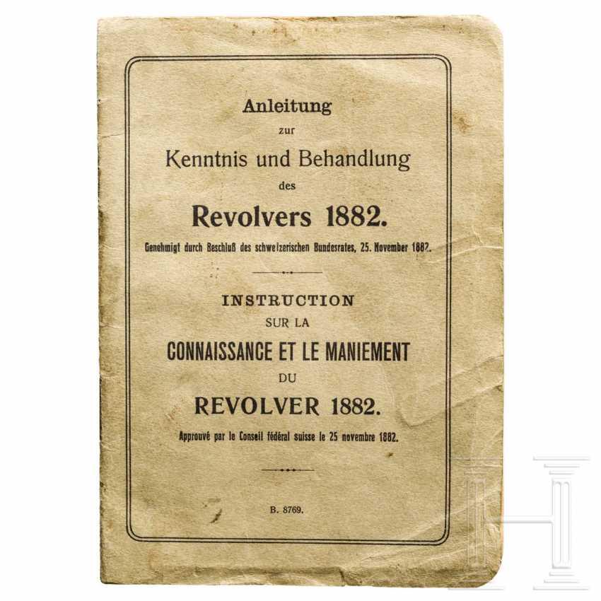 Originale Schweizer Anleitung zum Revolver M 1882, 1. Ausführung - photo 1