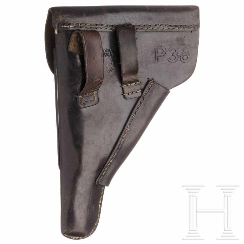Tasche zur P 38, mit Wehrmachtskoppel - photo 2