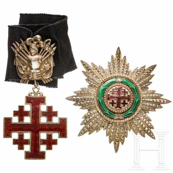 Order of the Holy Sepulcher in Jerusalem - Grand Officer's Set, 20th century - photo 2