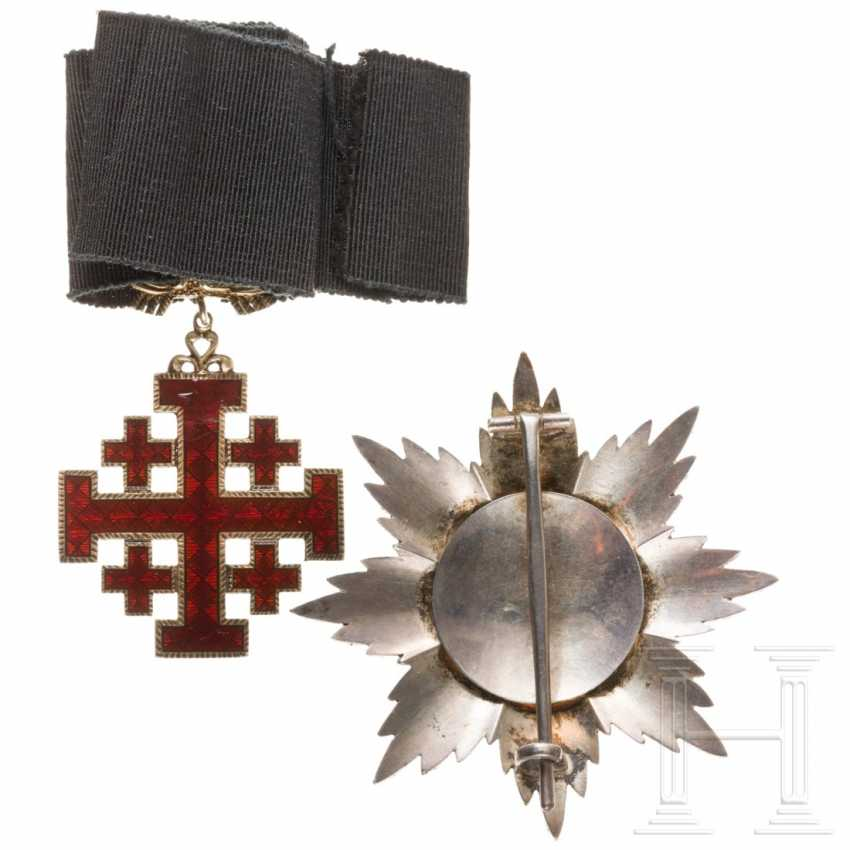 Order of the Holy Sepulcher in Jerusalem - Grand Officer's Set, 20th century - photo 3