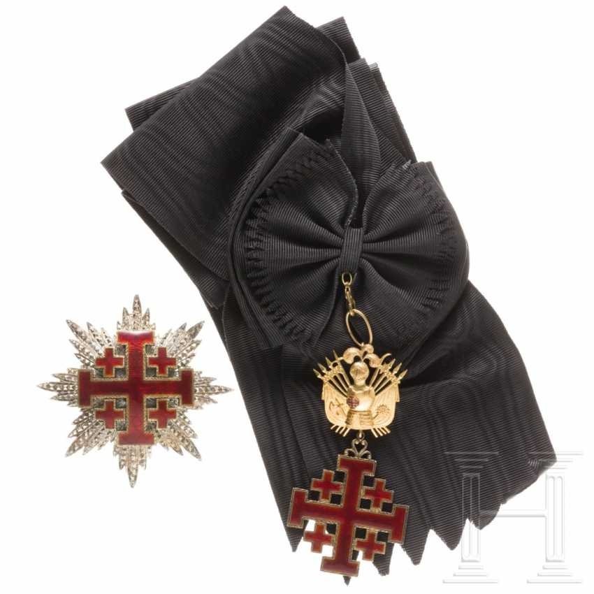 Order of the Holy Sepulcher in Jerusalem - Grand Cross with Breast Star, 19./20. century - photo 1