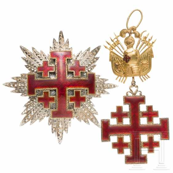 Order of the Holy Sepulcher in Jerusalem - Grand Cross with Breast Star, 19./20. century - photo 2