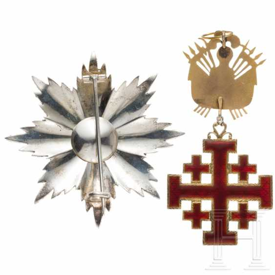 Order of the Holy Sepulcher in Jerusalem - Grand Cross with Breast Star, 19./20. century - photo 3