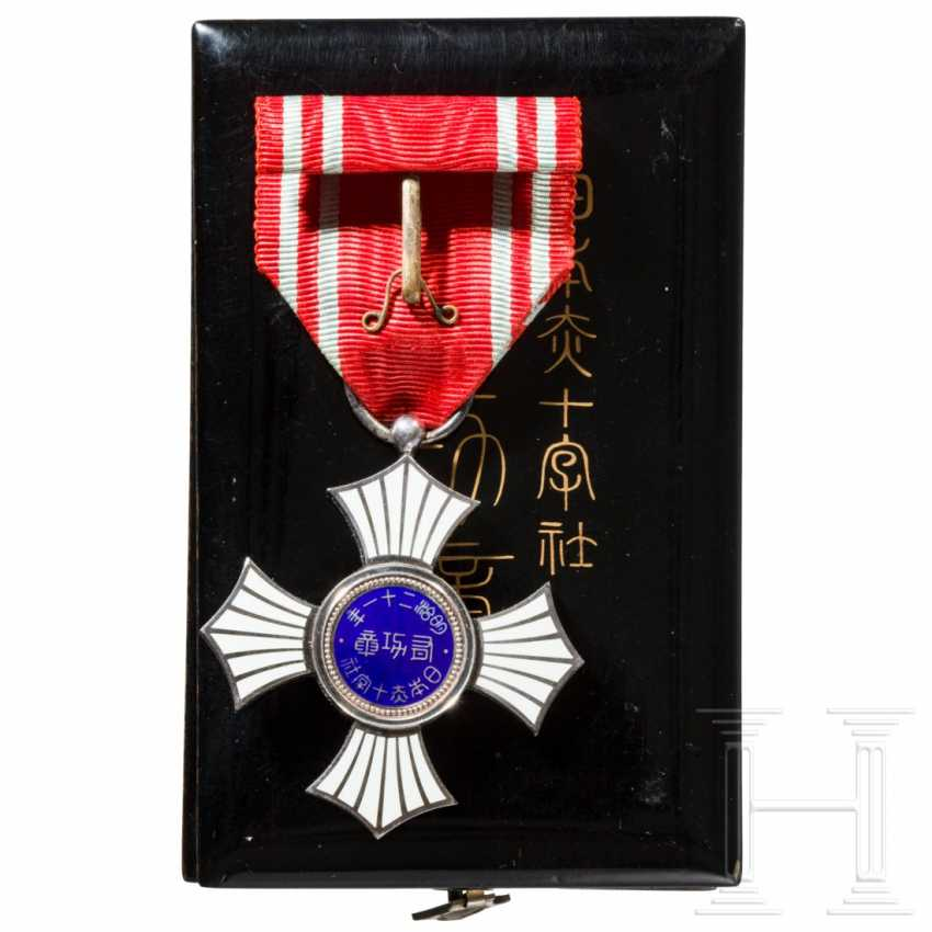 Japan - Silver Order of Merit of the Red Cross - photo 2
