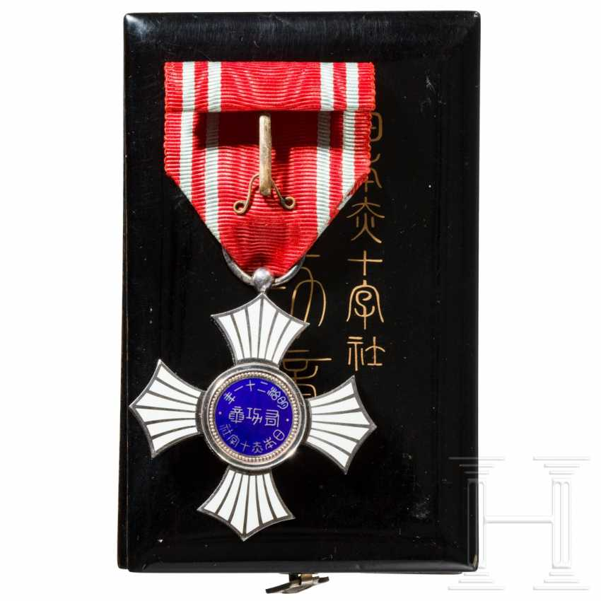Japan - Silver Order of Merit of the Red Cross - photo 4
