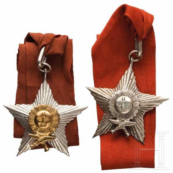 Nepal - Order of the Right Hand of Gurkha (Gorkha-Dakshina Bahu) - officer and knight decoration, 20th century - photo 1