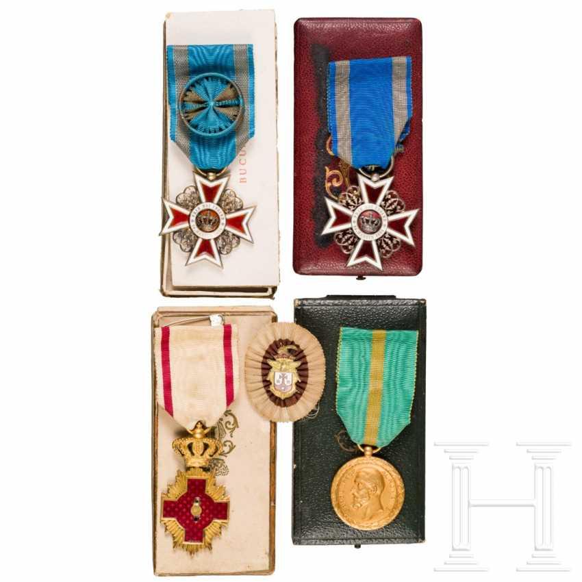 Romania - four awards, 19./20. century - photo 1