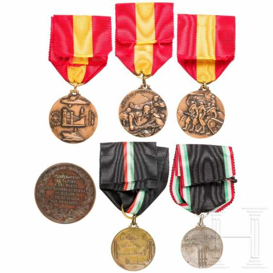 Six medals, Spain / Italy - photo 2