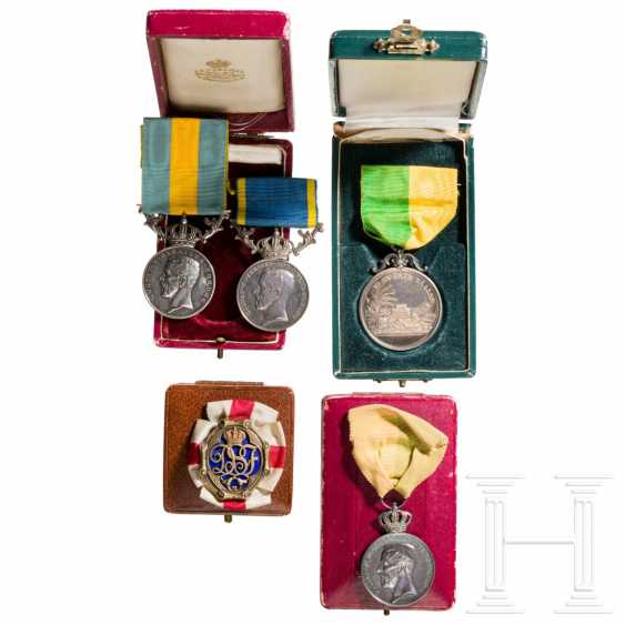 Awards and medals, Sweden, 1st half of the 20th century - photo 1