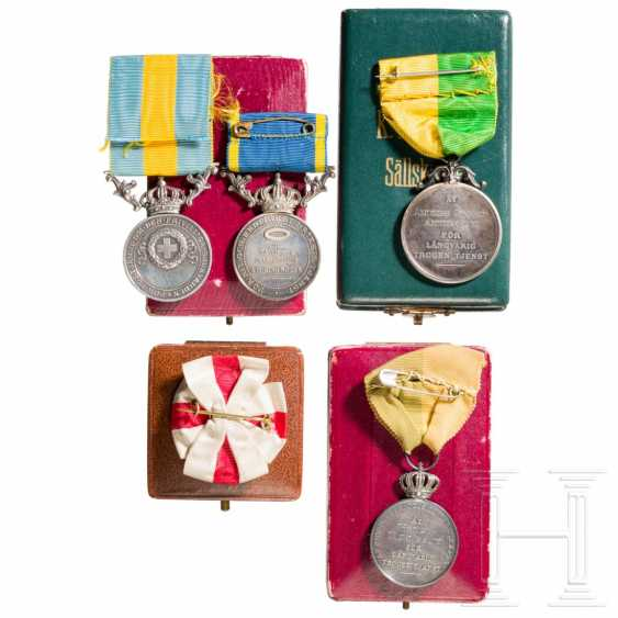 Awards and medals, Sweden, 1st half of the 20th century - photo 2