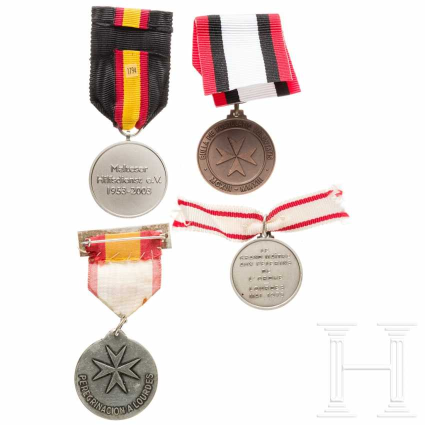 Four Maltese medals, 20th century - photo 2
