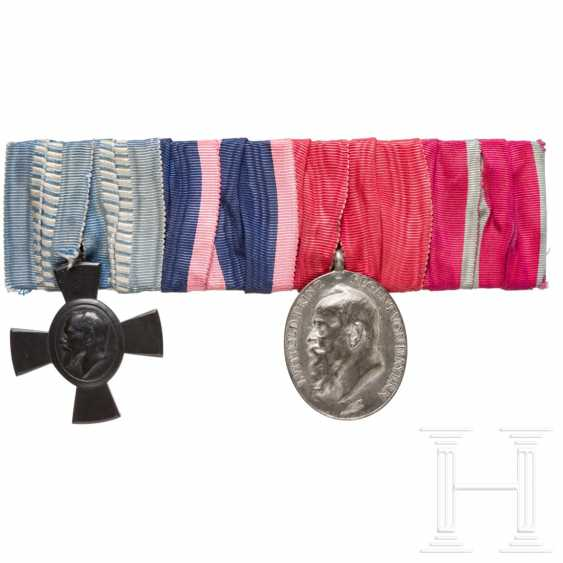 Four-part medal buckle from a Bavarian official - photo 1