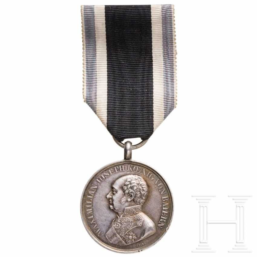 "Bavarian silver military merit medal (""Bravery Medal"") from World War 1914/18 - photo 1"