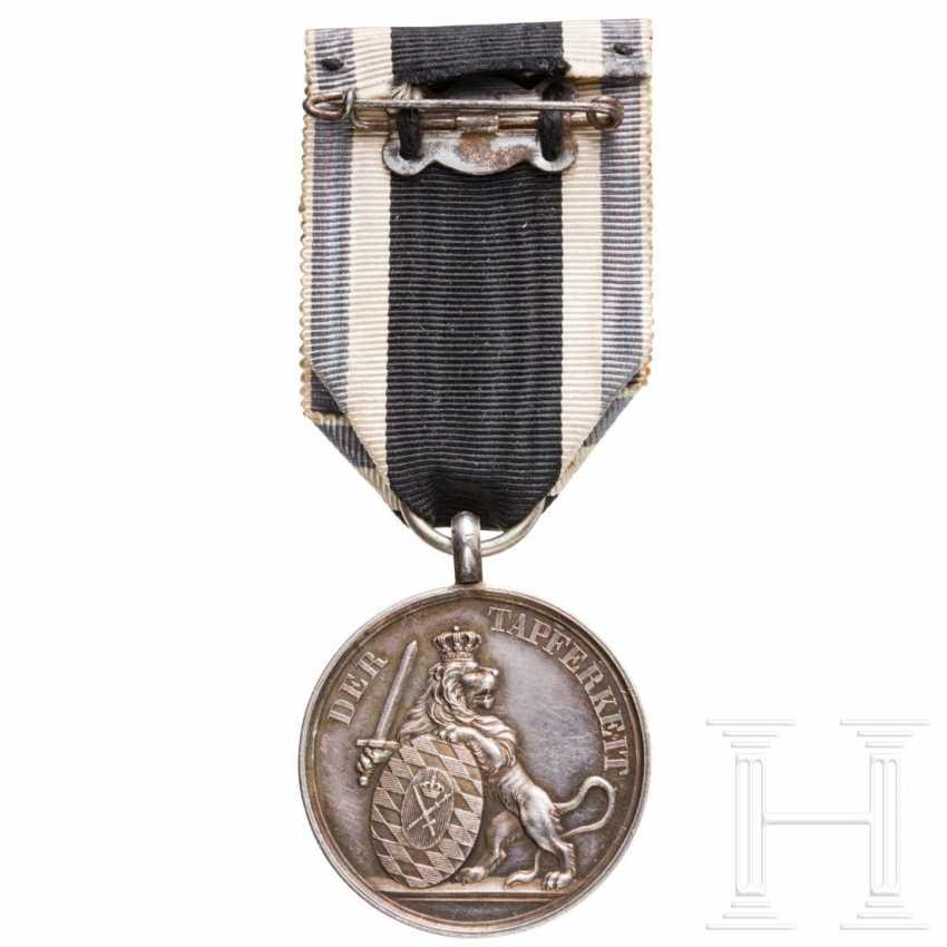 "Bavarian silver military merit medal (""Bravery Medal"") from World War 1914/18 - photo 2"