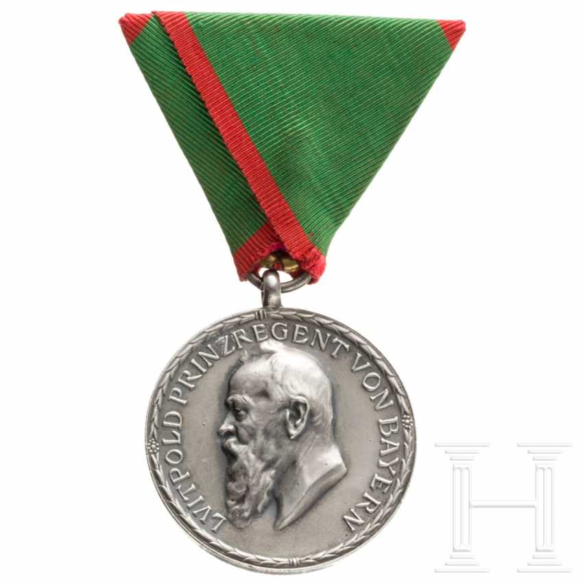 Agricultural anniversary medal in silver, Bavaria, 1910 - photo 1