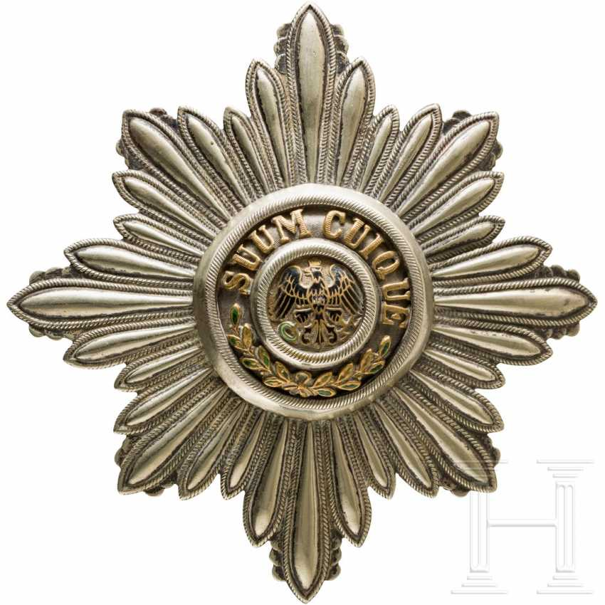 High Order of the Black Eagle - Breast Star - photo 1