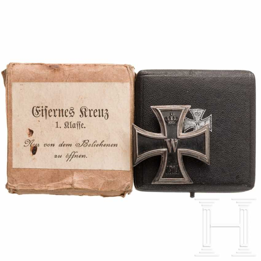 Iron Cross 1914, 1st class in a case with an outer box - photo 1