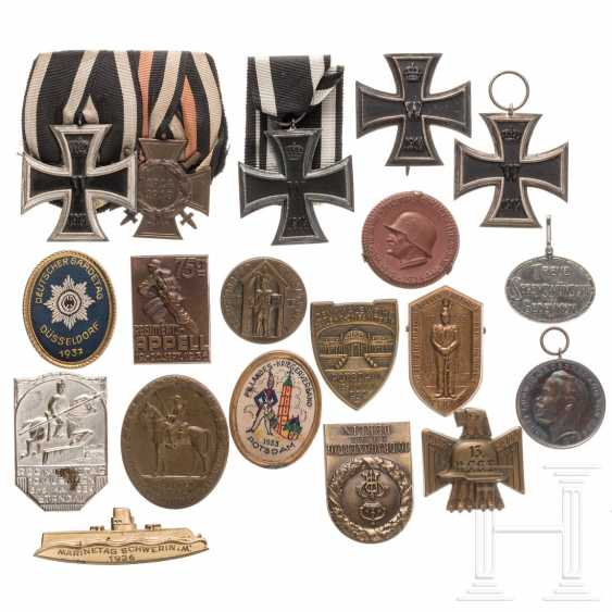 Iron Cross 1914 - one 1st class cross and three 2nd class crosses - photo 1