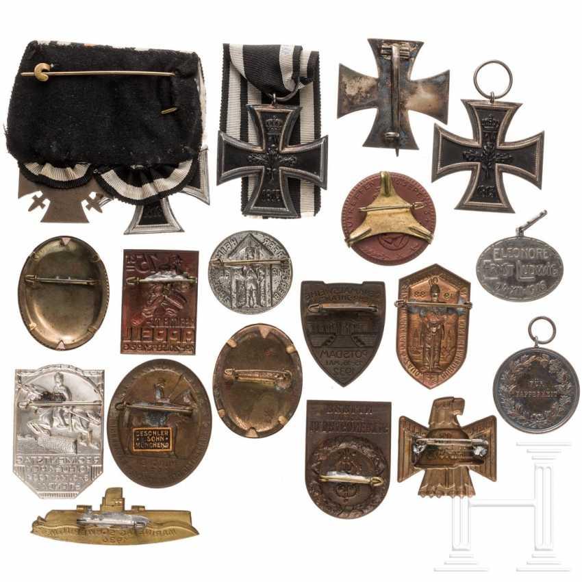 Iron Cross 1914 - one 1st class cross and three 2nd class crosses - photo 2