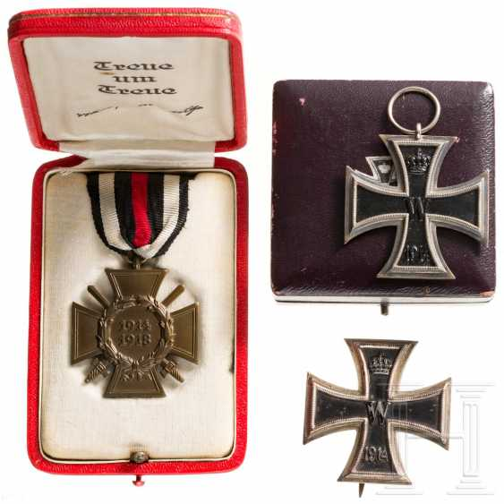 First World War - three awards from Karl Kroh - photo 1