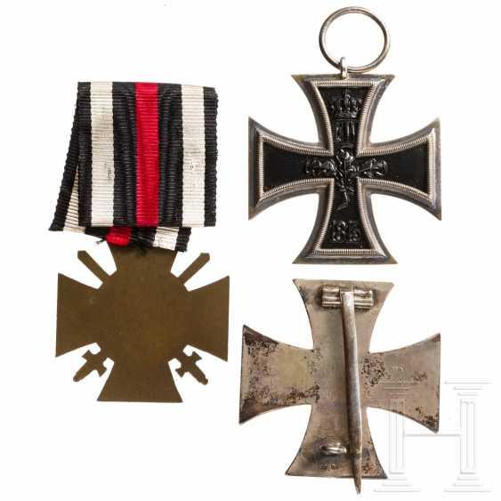 First World War - three awards from Karl Kroh - photo 2