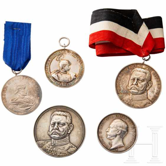 Five shooting award medals - photo 1