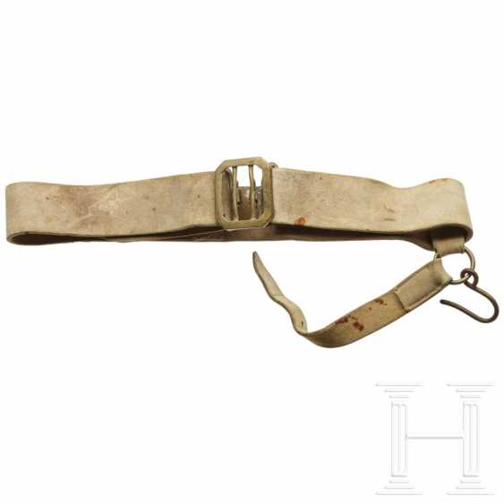 Leather belt, France (?), Early 19th century - photo 1