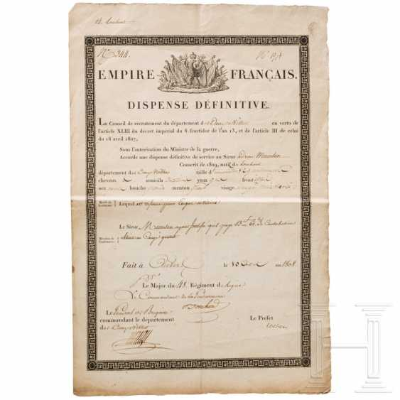 Discharged from the army in 1808, France - photo 1