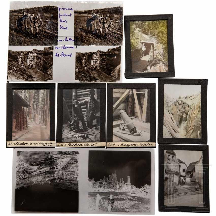 Ca. 300 Glasplättchen/Negative vom französischen Kriegsschauplatz - Foto 2
