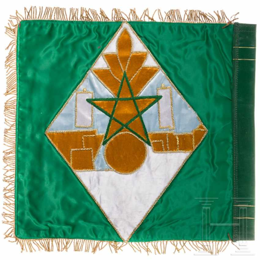 Flag of the 4th Squadron of the Républicaine Guard, around 1980 - photo 2