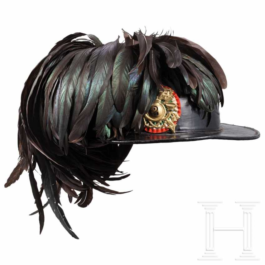 Hat and cover for Bersaglieri, 1st half of the 20th century - photo 1
