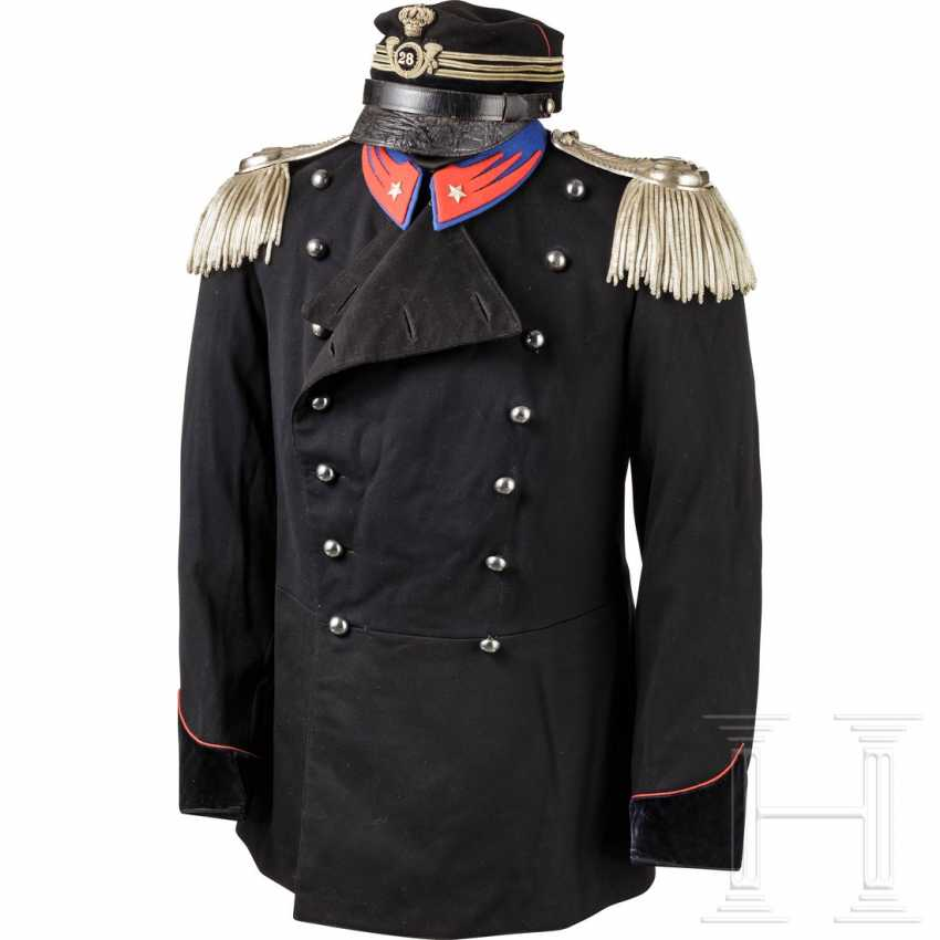 Uniform for officers of the light cavalry, 1st half of the 20th century - photo 1