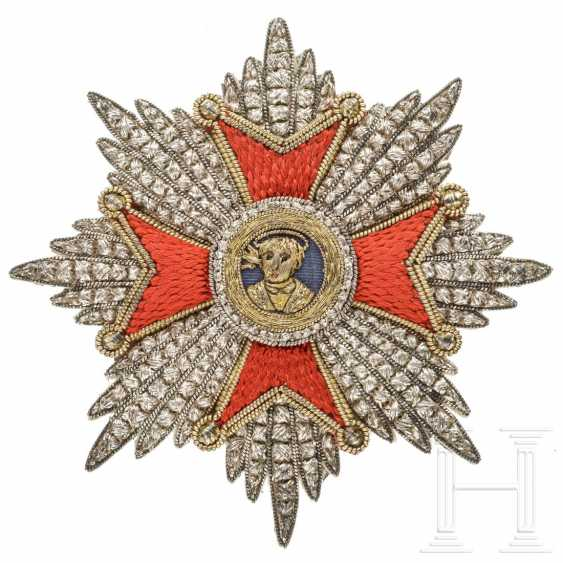 Vatican - Order of the Holy Pope New Year's Eve, breast star, 19th century - photo 1