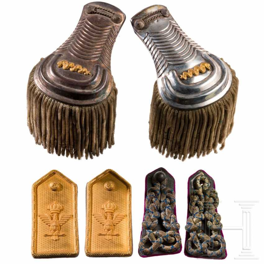 A pair of shoulder boards for a general, WWII - photo 1